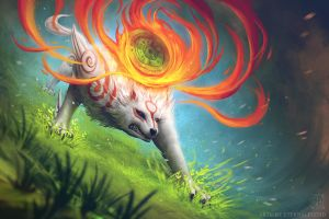 Okami by EternaLegend