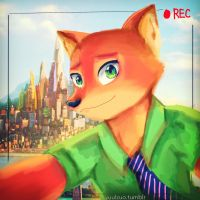 Nick Wilde by yuulzuo