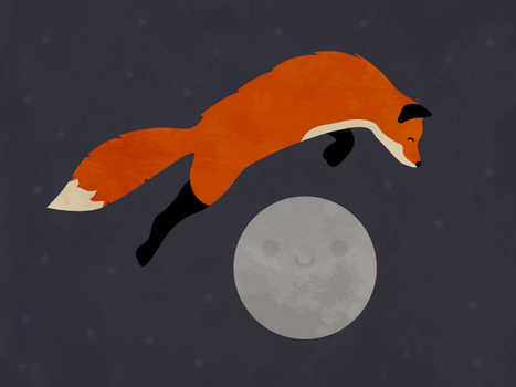 Fox Moon by apparate
