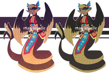 Quetzalcoatl Adopt [CLOSED] by mai-anjelle