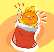 day 7: torchic by c0baltjuce