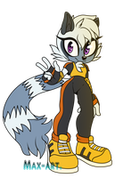 {Tangle the lemur}-chibi. by xMaX-ArtSx