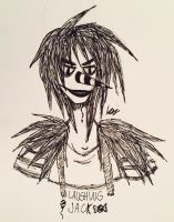 Laughing Jack  by CyberDyneChick