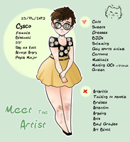 Meet The Artist Thing by Cysco-Inu