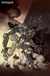 Reign Of Starscream 01 color by GabrielRodriguez