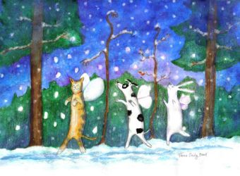 Snow Dancers by taralse