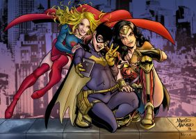 DC Girl Power by BacchiColorist