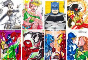 Comissioned sketchcards 5 by MarcFerreira
