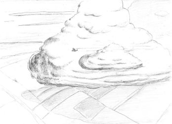 Inktober 19 - Cloud by OcioProduction