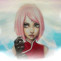 Sakura THE LAST by nareji