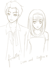 WIP ~ Leon and Saffie by paipang