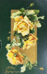 Rosy Yuletide Gold by Yesterdays-Paper