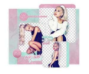 PACK PNG 518 // ARIANA GRANDE by ELISION-PNGS