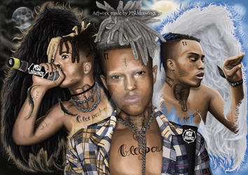 XXXtentacion (Evolution) - MSUdrawings by MSUdrawings
