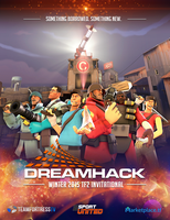 DHW TF2 Invitational 2015 Poster by uberchain