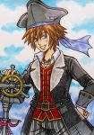 Kingdom Hearts 3 : Sora, Pirate of the Caribbean by dagga19