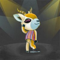 Lopez dancing (Animal Crossing) by axelintu