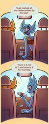 Road Trip AU - It's the little things by MarzKartoons