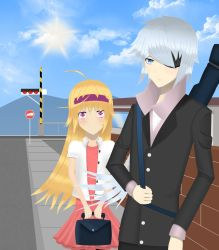 Lucky and his sister :D by amini101