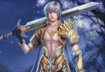 detail of ash--- the star card by jiuge