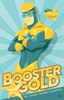 Booster Gold by MikeMahle