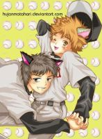 Abe and Mihashi by hujanmatahari
