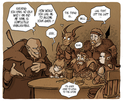 Dungeons and Dragons - Character Introduction by Boredman