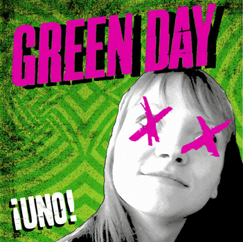Green Day UNO with my friend's face by matt2106