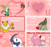 Pokemon Valentines by ShokiDeNai