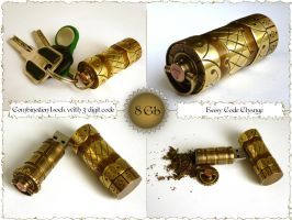 Steampunk USB flash by 42RUS