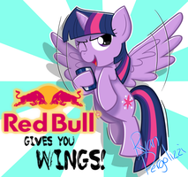 Red Bull by ArcticFox2012