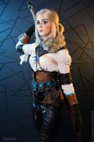 The Witcher 3: Wild Hunt - Ciri (Igromir 2015) by ver1sa