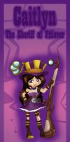 Caitlyn bookmark design by Hotaru-oz
