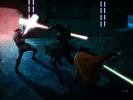 Duel of the Fates Again by weaselpa