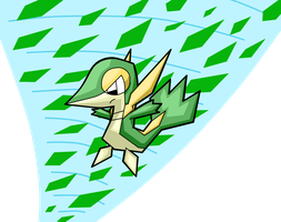 Snivy by turb0s0ic333