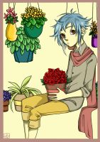 look at this boy and all them plants by asphytic