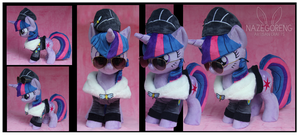 Commander Easyglider Twilight Custom Plush by Nazegoreng