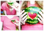 watermelon love by Patricia-b