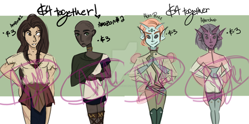 EMERGENCY ADOPTABLES by LadyInteresting
