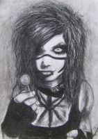 Andy Biersack 1# by minihumanoid