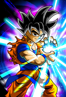 Goku - Ultra Instinct by kudoze