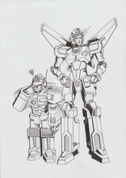 Lug and Anode - Commission by Zero-Kaiser