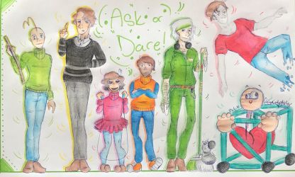 |.:~!Ask or Dare Baldi and Friends!~:.| by CherryCookieSpider