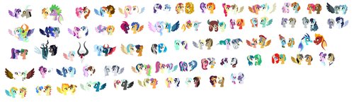 MLP Next Gen Ships by SonicPals101