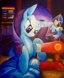 Rarity Good night they say Color Sceme painting  by ColorSceemPainting