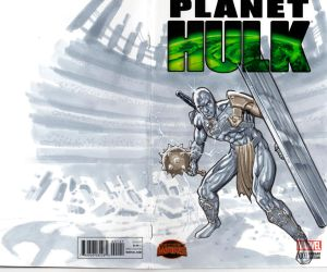 Silver Savage blank cover by mrno74