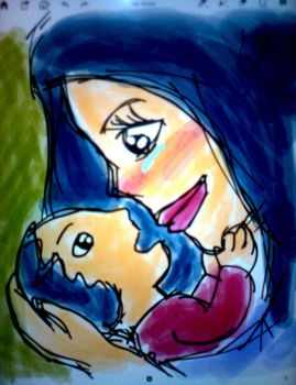 Mum and child by forensicist