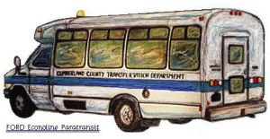 A Paratransit People-mover... by zekesgraphics