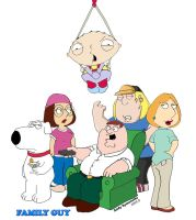 Family Guy Cover sheet by Andy721