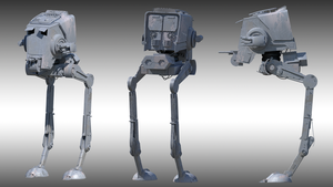 AT-ST by BlindIllusionist